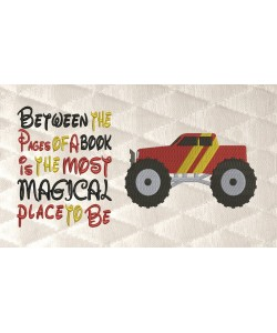 monster truck with Between the Pages
