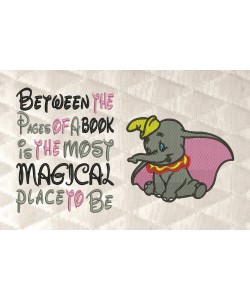 Dumbo with between the pages