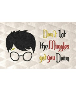 Harry Potter Face with don't let