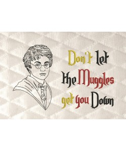 Harry Potter line with don't let
