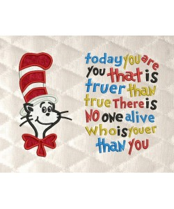 Dr-Seuss with today you are you