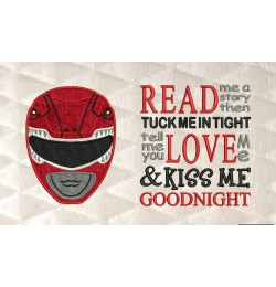 Power Ranger Red with read me a story