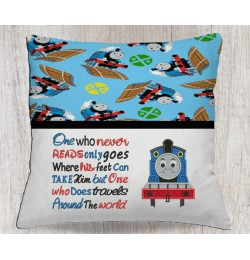 Thomas the train with one who never