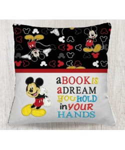 Mickey Mouse with a book is a dream
