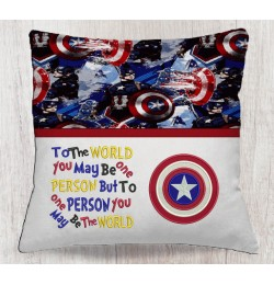Captain america with To The World