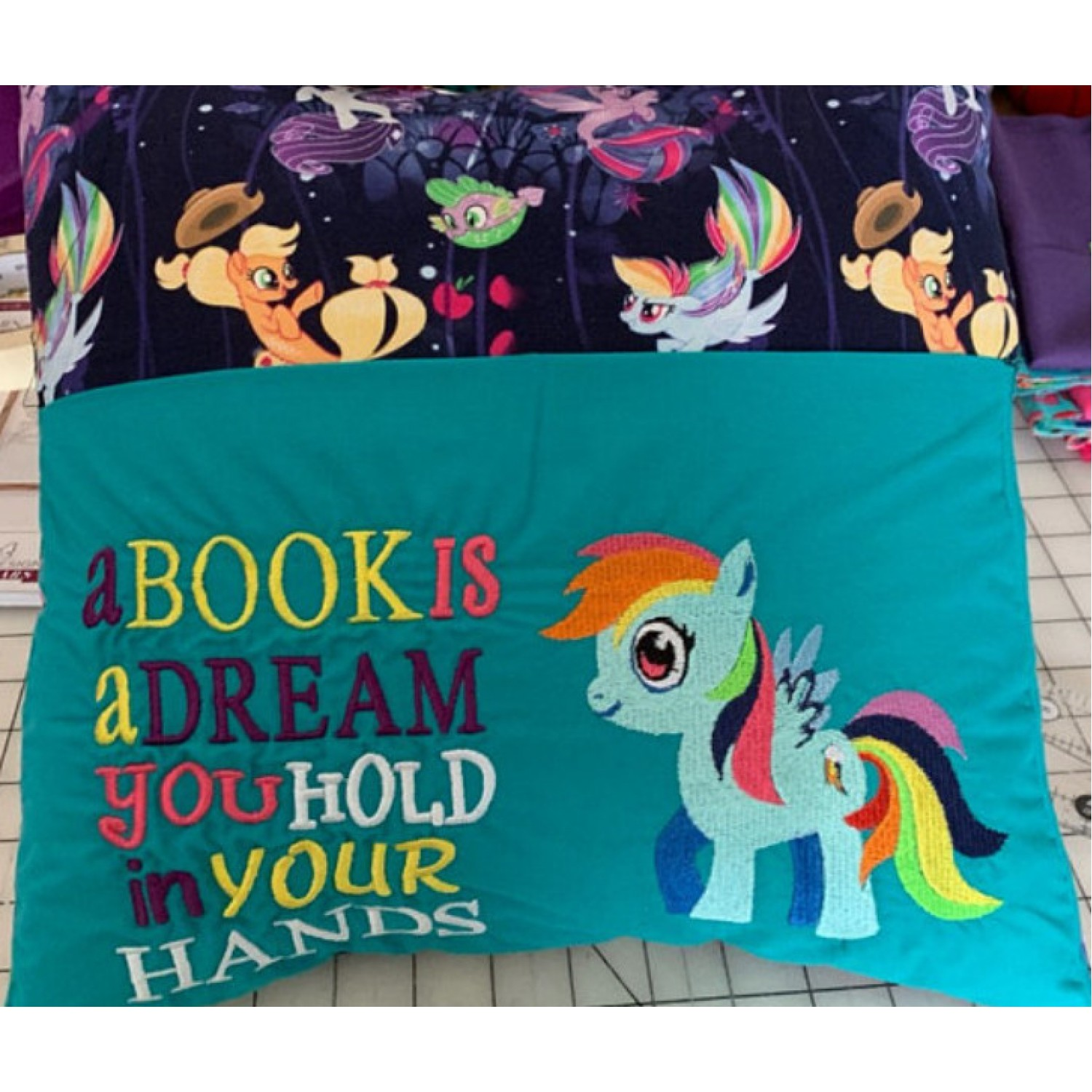 My little pony with a book is a dream