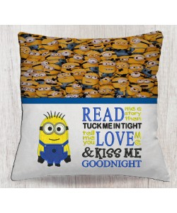 Bob minion with read me a story designs