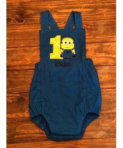 Bob minion birthday number 1 design
