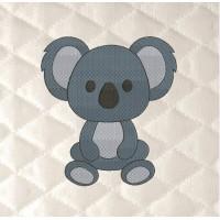 Koala embroidery