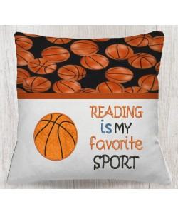 Basketball with reading is my favorite sport