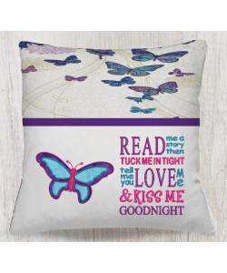 butterfly with read me a story designs