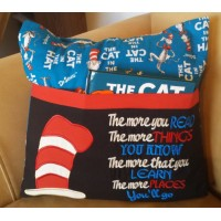 Hat Dr. Seuss with the more you read