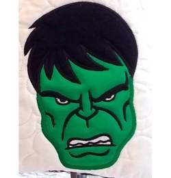 Hulk Face applique design