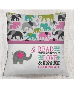 Elephant Hearts read me a story designs