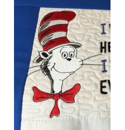 cat in the hat embroidery