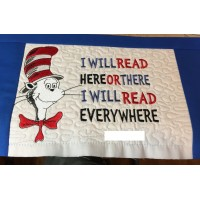 cat in the hat with i will read