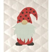 Gnome embroidery