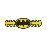 Extender batman Face Mask Embroidery Design