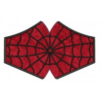 face mask spiderman v2 Embroidery Design For kids and adult in the hoop