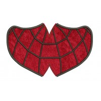 face mask spiderman v3 Embroidery Design For kids and adult in the hoop