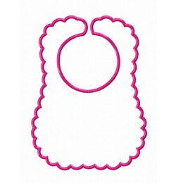 Baby bibs in the hoop embroidery