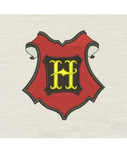 Hogwarts embroidery