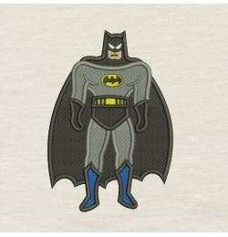 Batman embroidery