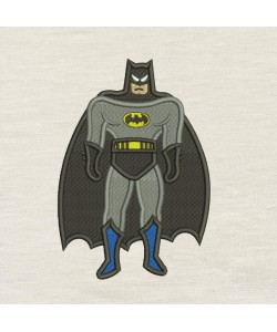 Batman embroidery