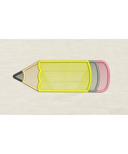 Pencil embroidery