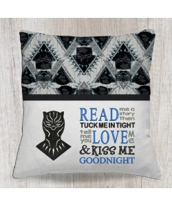Black panther with read me a story