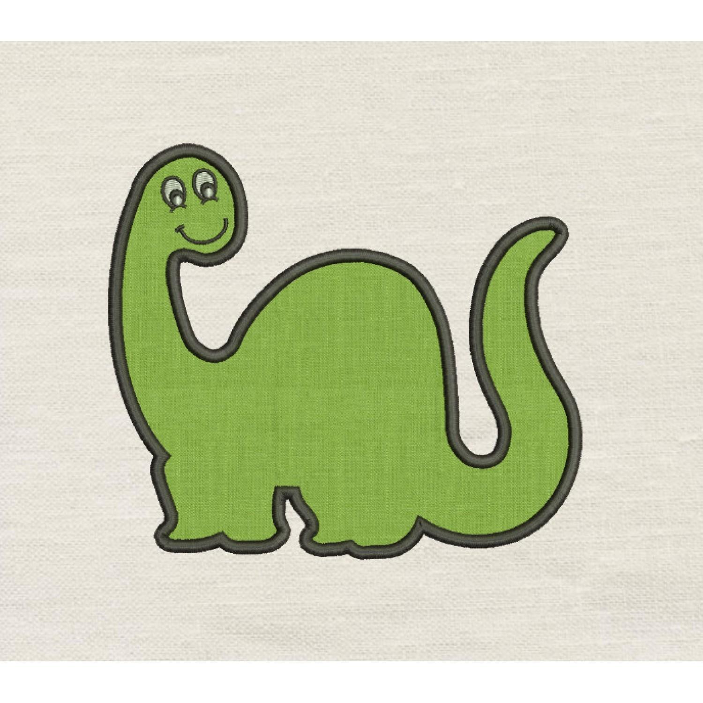 Dinosaur mog applique