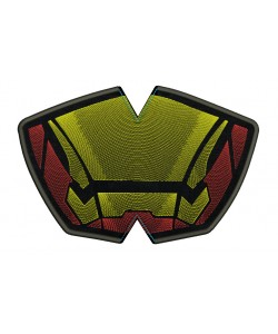 Face mask Iron man v2 For kids and adult in the hoop