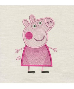 Peppa Pig Embroidery