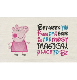 Peppa Pig with Between the Pages Designs
