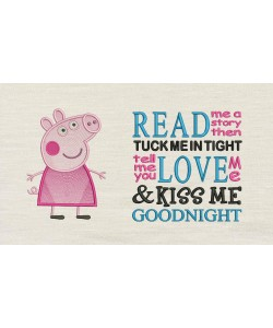 Peppa Pig with read me a story Designs
