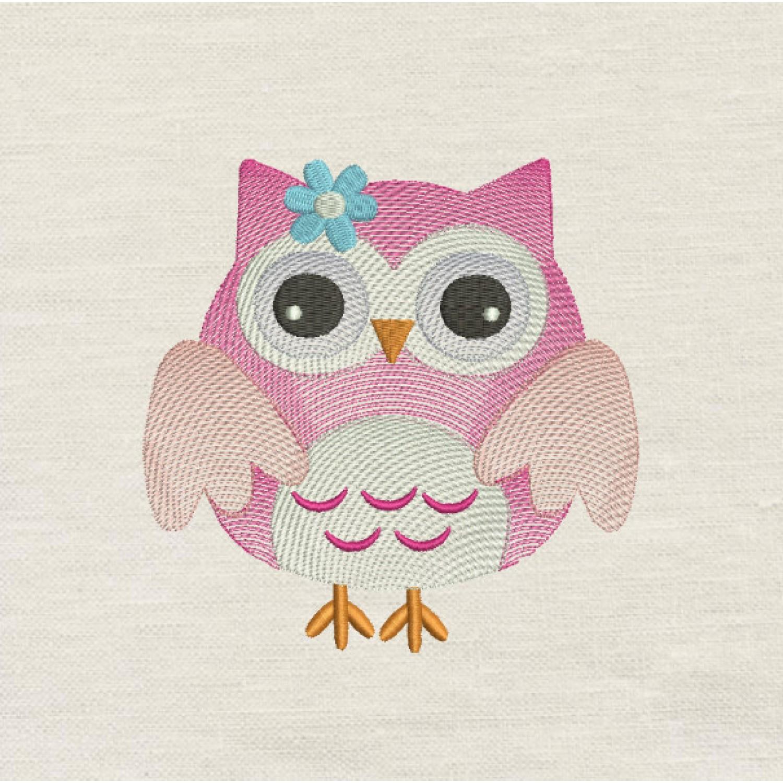 Owl rega v2 embroiudery