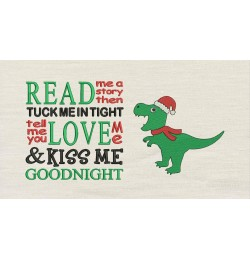Dinosaur christmas with read me a story