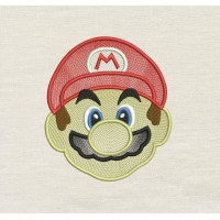 Mario Embroidery
