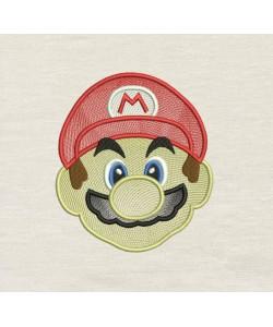 Mario Embroidery