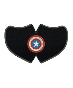Face Mask captain america For kids and adult in the hoop