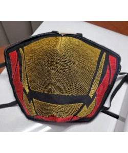 Face mask Iron man v2 For kids and adult in the hoop embroidery