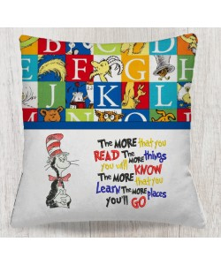 The cat in the hat with the more that you read