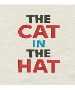The cat in the hat word
