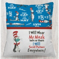 The cat in the hat mask with i will wear