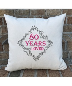 80 Years Loved Birthday Gifts for Women