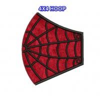 Face Mask Spiderman v4 HOOP 4X4 in the hoop