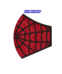Face Mask Spiderman v4 HOOP 4X4 in the hoop