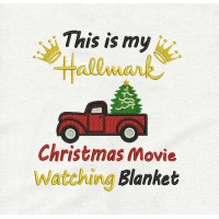 This is my hallmark truck v2 embroidery design