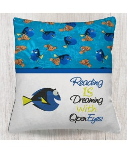 Dory fish with Reading is dreaming