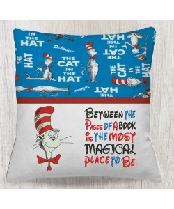 Cat in the hat with Between the Pages